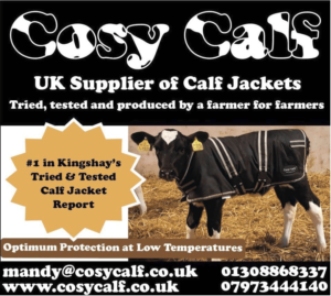 Number 1 in Kingshay's tried and tested calf jacket report. Optimum protection at low temperatures.